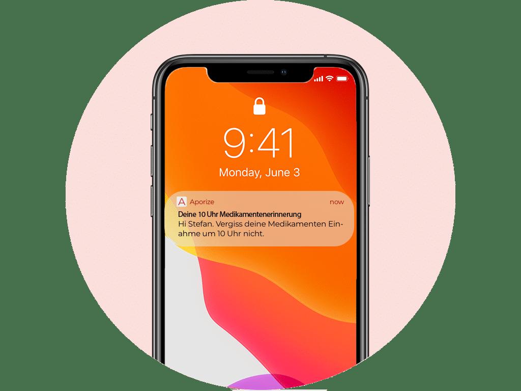 Medikamentenerinnerung via SMS von Aporize